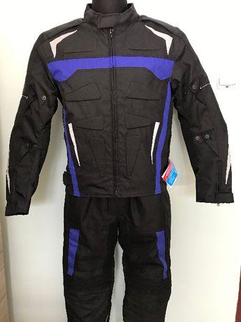 Kombinezon motocyklowy tekstylny, kurtka + spodnie. Nowy.