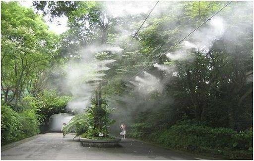 Туманообразования высокого давления. Охлаждение туманом