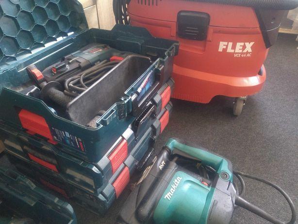 Narzędzia flex Bosch Makita odkurzacz zestaw wyposażenie