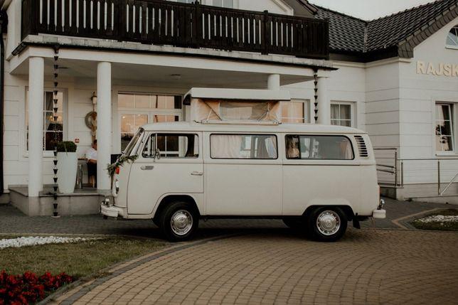 Samochód do ślubu VW T2 Ogórek Westfalia bulli bulik