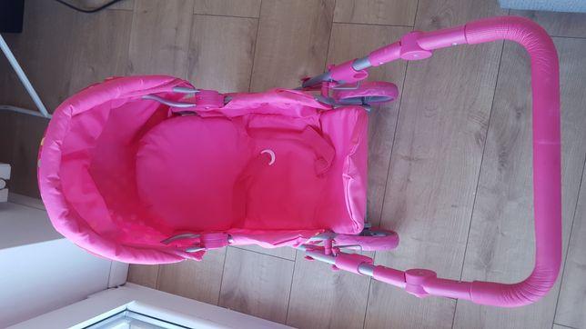 Wózek 3w1 dla lalek z nosidełkiem