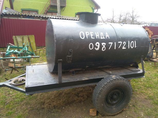 Підвозу води на будівництво