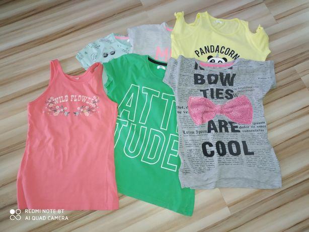 Bluzki dla dziewczynki na lato