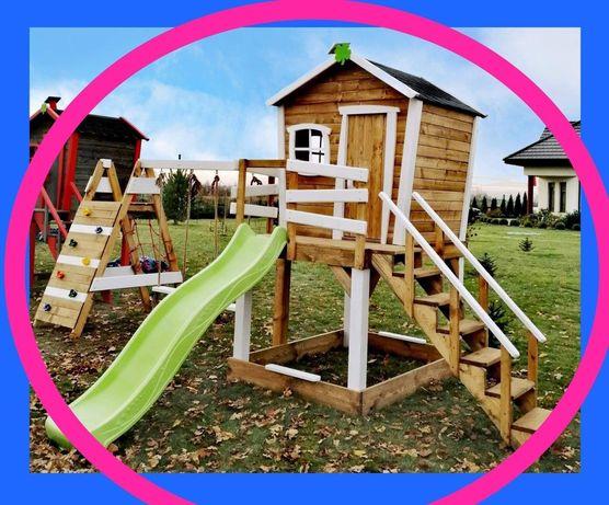 Bajkowy krzywy domek dla dzieci XL