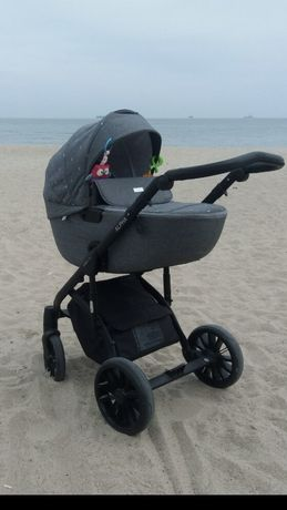 Детская коляска 2 в 1 Mioobaby Alpha Ultra Grey