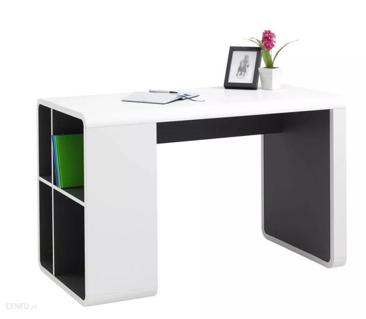 Jysk biurko terndrup białe/szare