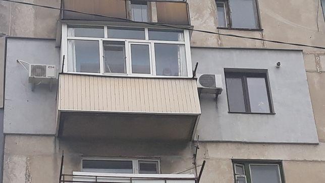 Болкон рама металлопластиковая