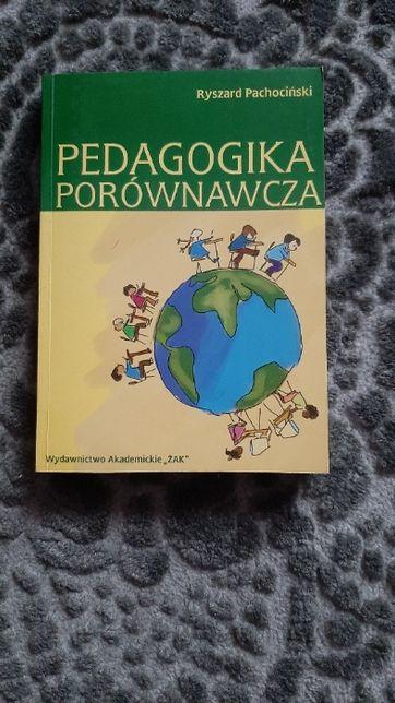 Książka Pedagogika porównawcza Ryszard Pachociński