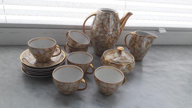 Serwis kawowy lata 60. - porcelana Karolina