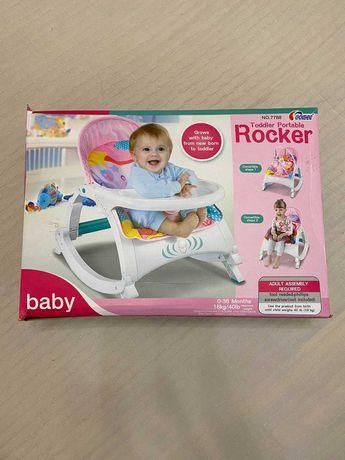 Дитячий шезлонг 2 в 1 Tilly Toddler Portable Rocker