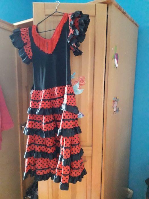 Sukienka do tańca flamenko lub na bal karnawałowy. Szprotawa - image 1