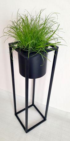 Kwietnik stojak na kwiaty, nowoczesna doniczka w stylu industrial NOWA