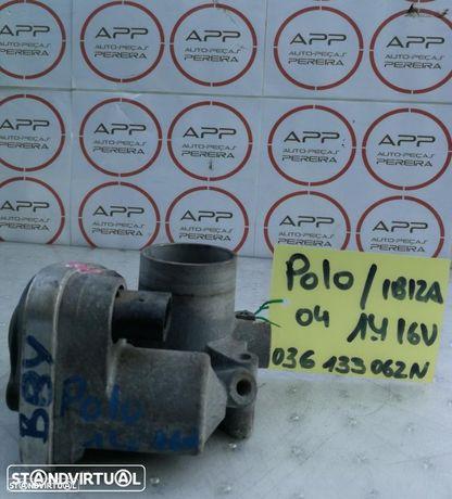Borboleta de admissão VW Polo, Ibiza 6J de 2004 1.4 16V, ref 03G133062N.