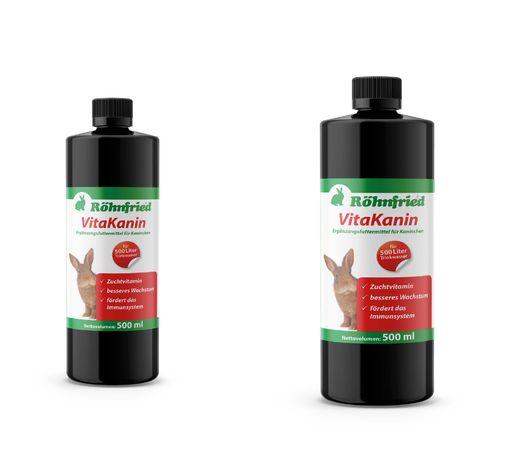 Röhnfried VitaKanin 2×500 ml-koncentrat witaminowy dla królików