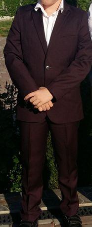 Школьный костюм шикарного цвета