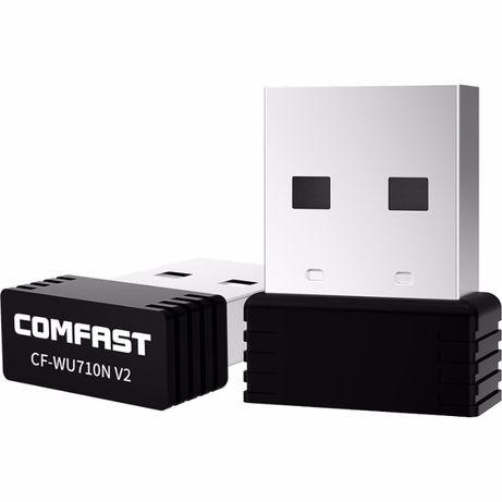 Беспроводной USB Wi-fi адаптер Comfast .150 Мбит/с 802.11b/g/n