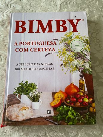 Livro Bimby à Portuguesa com certeza