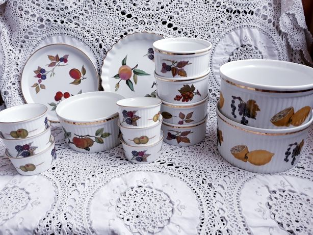 Фарфоровая посуда Royal Worcester рамекин форма кастрюля блюдо