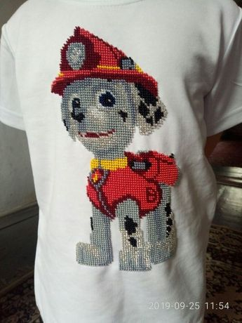 вышитые футболки