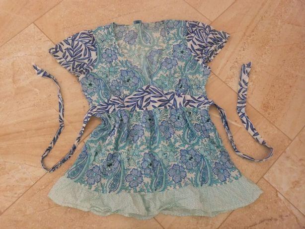 Новая блузка 48 размера Oasis, 100% хлопок, Индия