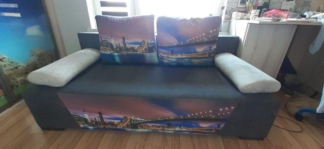Kanapa rozkładana sofa tapczan łóżko