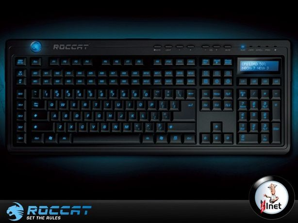 Teclado Valvo Gaming para PC da Roccat