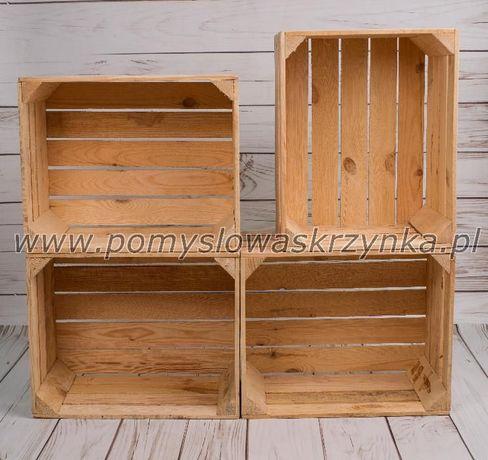 skrzynka drewniana skrzynki drewniane jedynka nowa dekoracja biała
