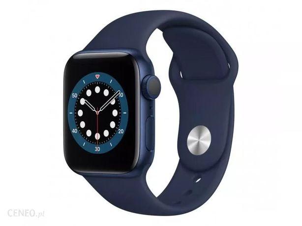 APPLE Watch Series 6 GPS 40 mm niebieski, nowy, zafoliowany