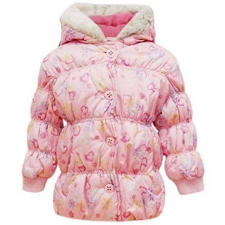Kurtka na zime dla dziewczynki Sugar Pink 74cm NOWA METKI