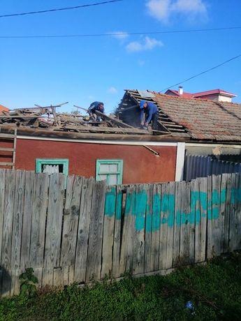Демонтаж ветхих  домов и строений. Демонтажные работы уборка территори