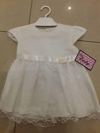 Sukienka dla dziewczynki r.74