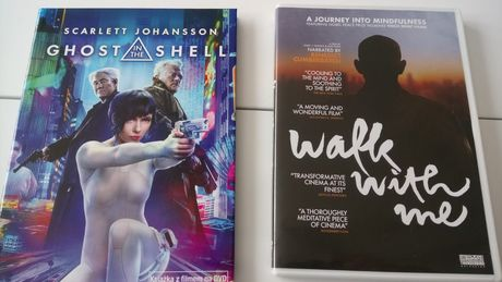 Ghost in the Shell / Walk with me filmy na DVD jak nowe