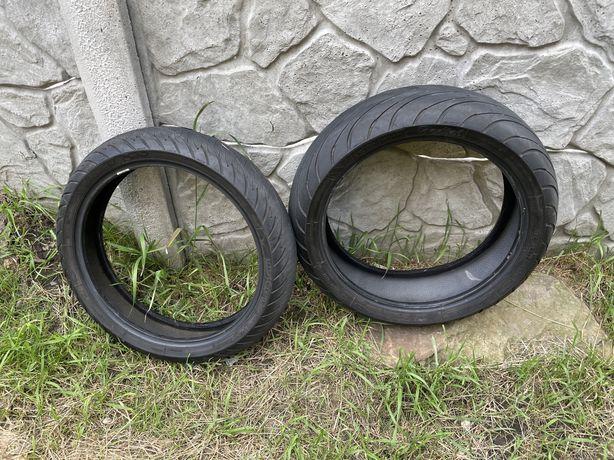 Michelin 180/55/R17 и 120/70/R17