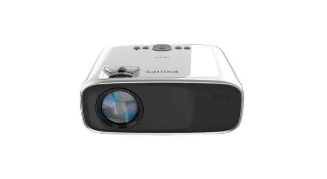 Philips neopix ace projektor ekran 200x150 stopa kabel HDMI 25m