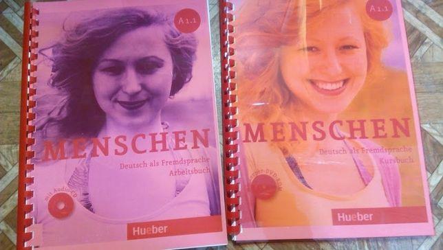 Menschen А1.1, А1.2, А2.1, А2.2, В1 arbeitsbuch + kursbuch