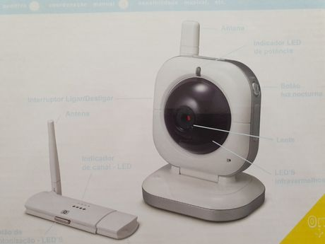 Monitor video bebé wifi