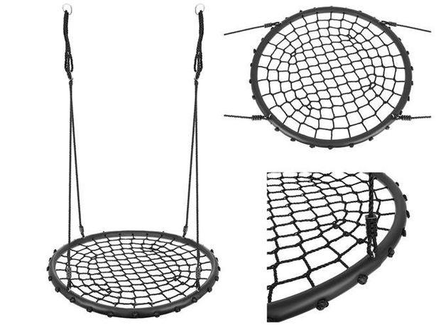 Huśtawka Bocianie Gniazdo Ogrodowa Duża 100cm XXL na 120 kg