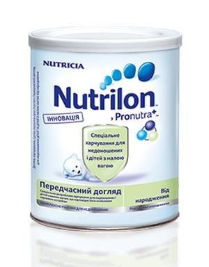 Смесь Nutrilon Преждевременный уход (400 г) жест.банка(есть 2шт))
