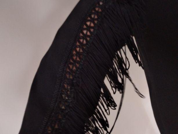 Czarna klasyczna prosta sukienka MONNARI 40 42 L XL