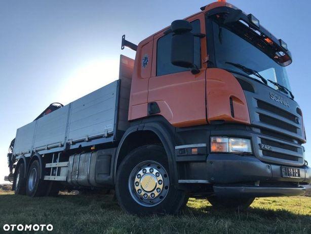 Scania P420  Rotator Bidowlanka Hiab 15 Ton/M Sterowanie Radiowe
