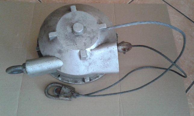 Wyciągarka, wciągarka, linka stalowa
