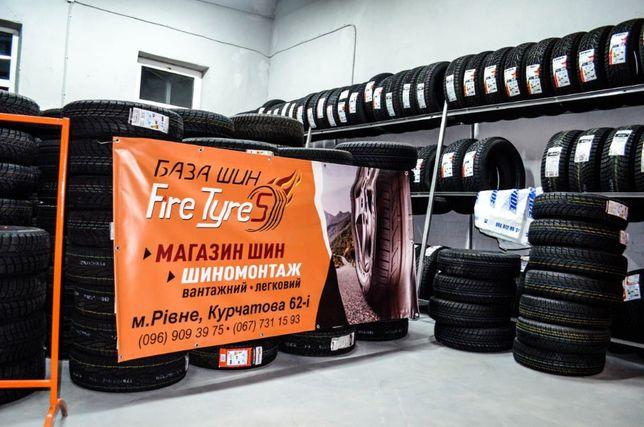 Легкові та вантажні шини(R13-R22.5) усі виробники, усі розміри