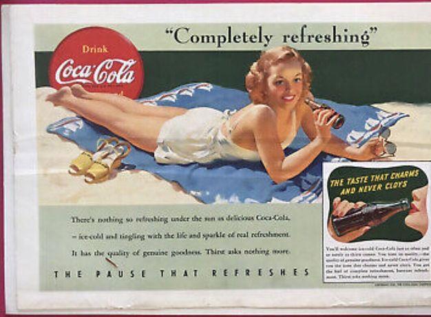 1941. WW2. Coca cola