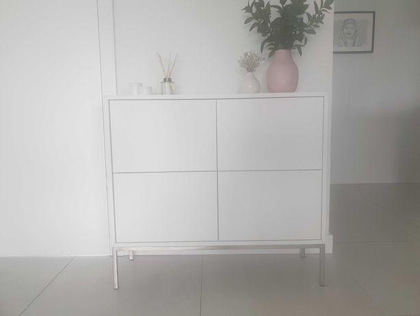 Komoda, biała matowa, elegancka