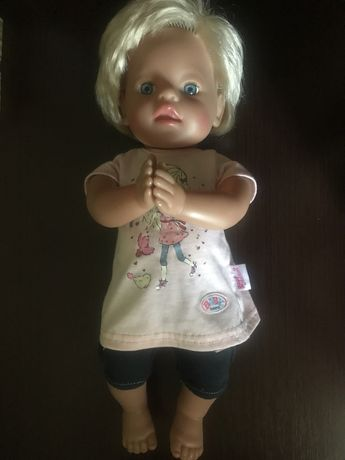Baby born zapp музыкальная кукла беби берн оригинал двигает ручками