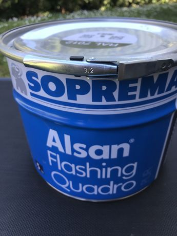 Soprema Alsan Flashing żywica poliuretanowo-bitumiczna