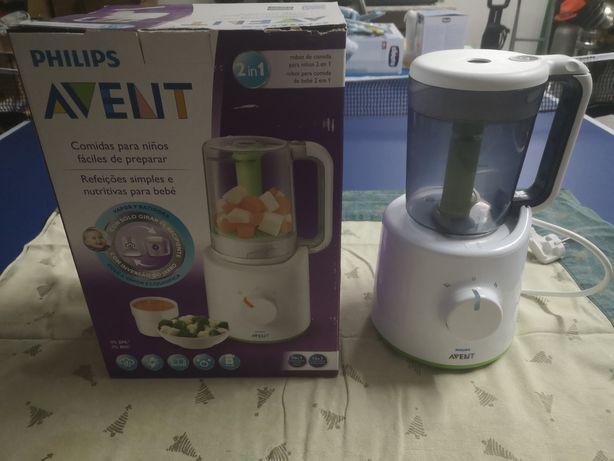 Robô de comida para bebé 2em1 Philips Avent