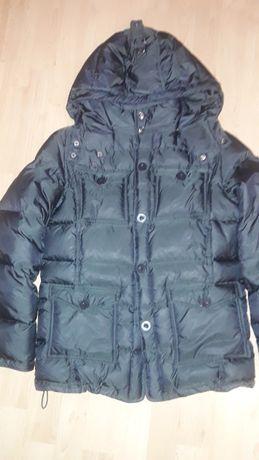 Пуховик куртка Bellini на мальчика черный 10 лет, 140 см