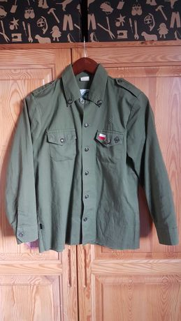 Koszula mundurowa ZHP męska 158 jak nowa