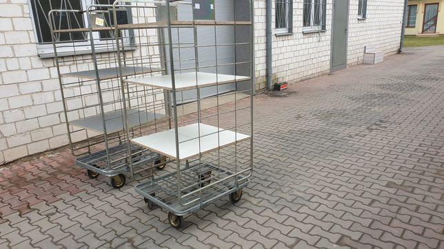 wózek kurierski transportowy sklepowy